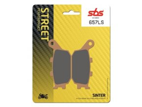 657LS sintrované brzdové destičky SBS