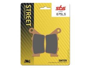 675LS sintrované brzdové destičky SBS