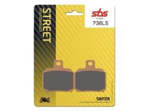 730LS sintrované brzdové destičky SBS