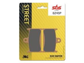 624SP EVO sintrované brzdové destičky SBS