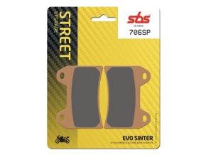706SP EVO sintrované brzdové destičky SBS