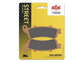 735SP EVO sintrované brzdové destičky SBS