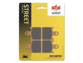 838SP EVO sintrované brzdové destičky SBS