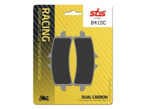 841DC Dual Carbon závodní brzdové destičky SBS