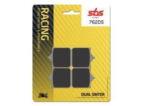 762DS Dual Sinter závodní brzdové destičky SBS