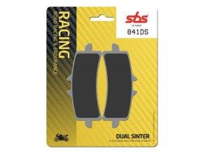 841DS Dual Sinter závodní brzdové destičky SBS