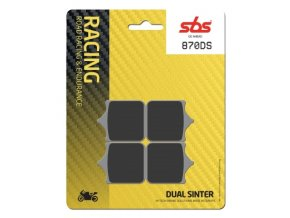 870DS Dual Sinter závodní brzdové destičky SBS