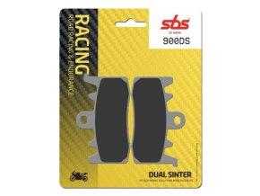 900DS Dual Sinter závodní brzdové destičky SBS