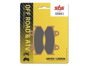 558SI sintrované off-road brzdové destičky SBS