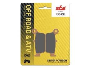604SI sintrované off-road brzdové destičky SBS