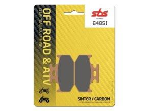 648SI sintrované off-road brzdové destičky SBS