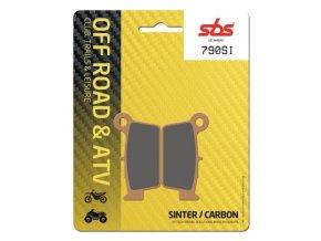 790SI sintrované off-road brzdové destičky SBS