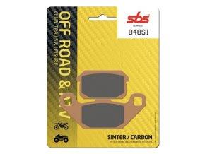 848SI sintrované off-road brzdové destičky SBS