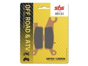 851SI sintrované off-road brzdové destičky SBS