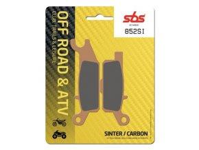 852SI sintrované off-road brzdové destičky SBS
