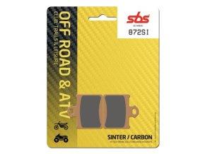 872SI sintrované off-road brzdové destičky SBS
