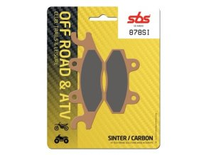 878SI sintrované off-road brzdové destičky SBS