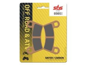 898SI sintrované off-road brzdové destičky SBS