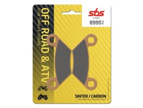 899SI sintrované off-road brzdové destičky SBS
