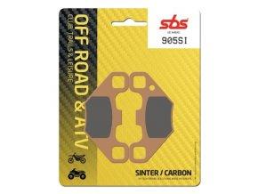 905SI sintrované off-road brzdové destičky SBS