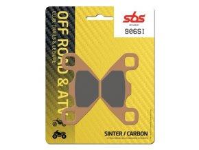906SI sintrované off-road brzdové destičky SBS