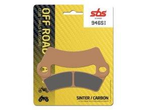 946SI sintrované off-road brzdové destičky SBS