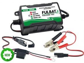 FULBAT nabíječka baterií FULLOAD 750 6V/12V