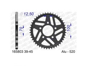 AFAM 165803-45 řetězová rozeta 45