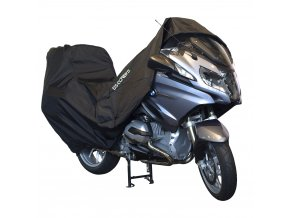 DS COVERS ALFA luxusní plachta pro motocykly s kufrem