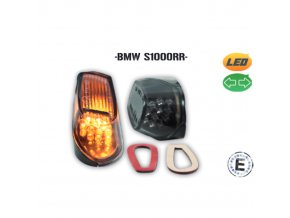 BMW S1000RR led blinkry do kapotáže
