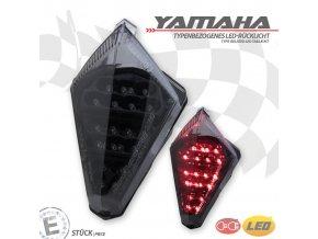 Yamaha YZF- R1, T-Max 530 zadní světlo