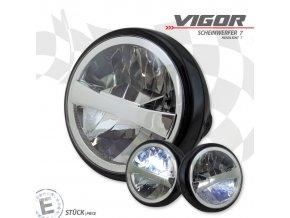 """LED hlavní přední světlo Vigor 7"""""""