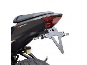 Yamaha MT-07 držák registrační značky