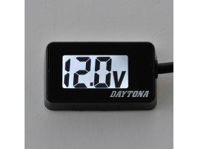 Daytona voltmetr indikátor napětí 12V