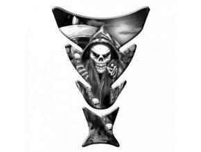 Keiti Skull tankpad polep na nádrž