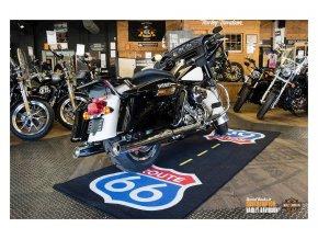 Moto koberec ROUTE 66 pod motorku 280cm x 100cm