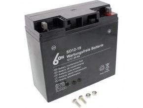 12-19 (51913) motocyklová baterie 6ON gelová
