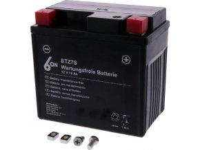 YTZ7S motocyklová baterie 6ON