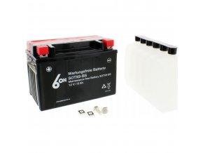 YTX9-BS motocyklová baterie 6ON