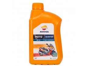 REPSOL MOTO SCOOTER 4T 5W40 1L syntetyczny olej