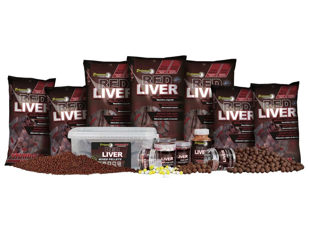 STARBAITS Red Liver Dip 200ml