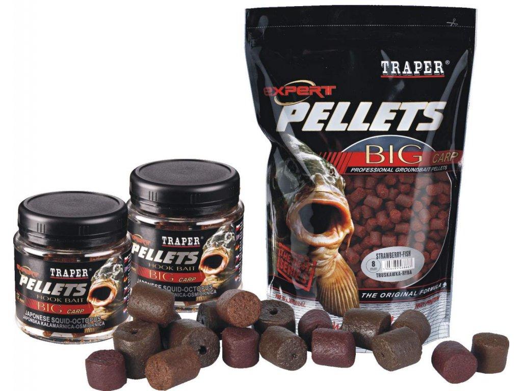 TRAPER Pelety Expert Halibut Mix 1kg