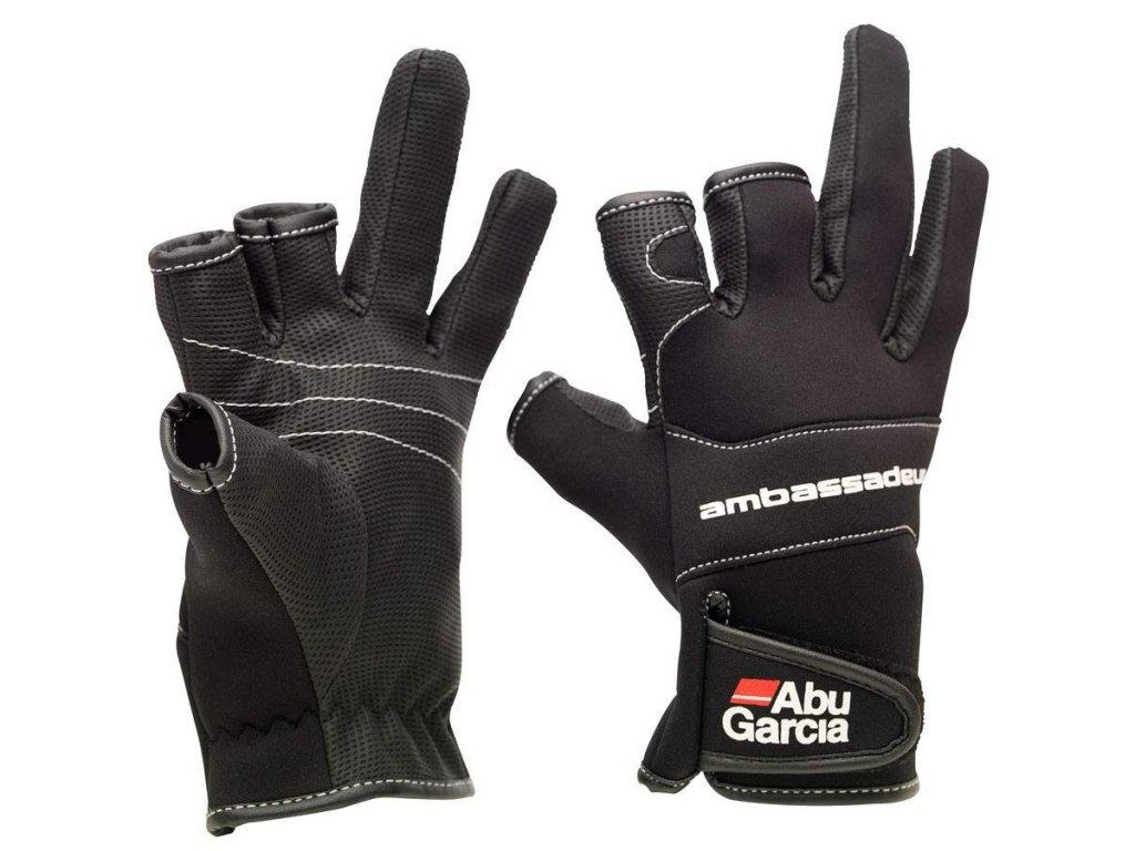 ABU GARCIA Stretch Glove Neoprenové rukavice