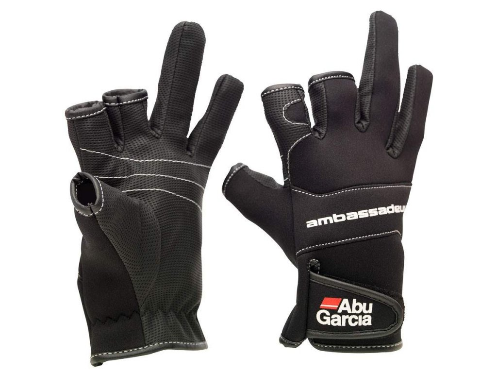 ABU GARCIA Stretch Glove Neoprenové rukavice