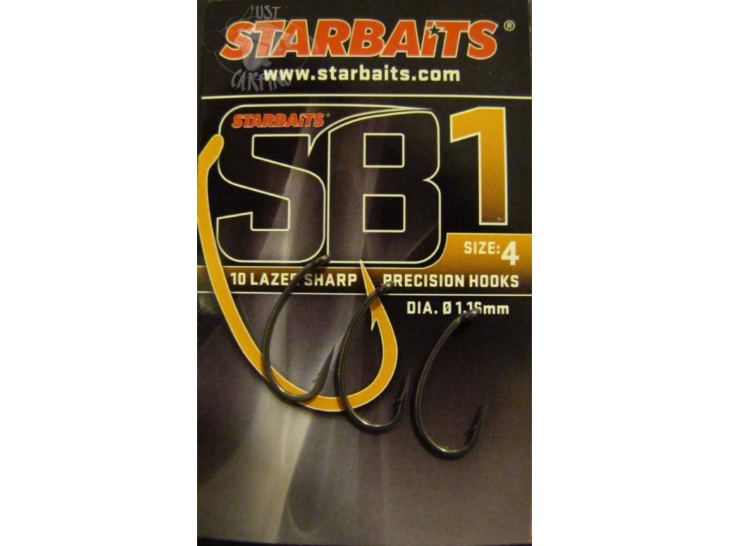 Starbaits SB1 háček s protihrotem