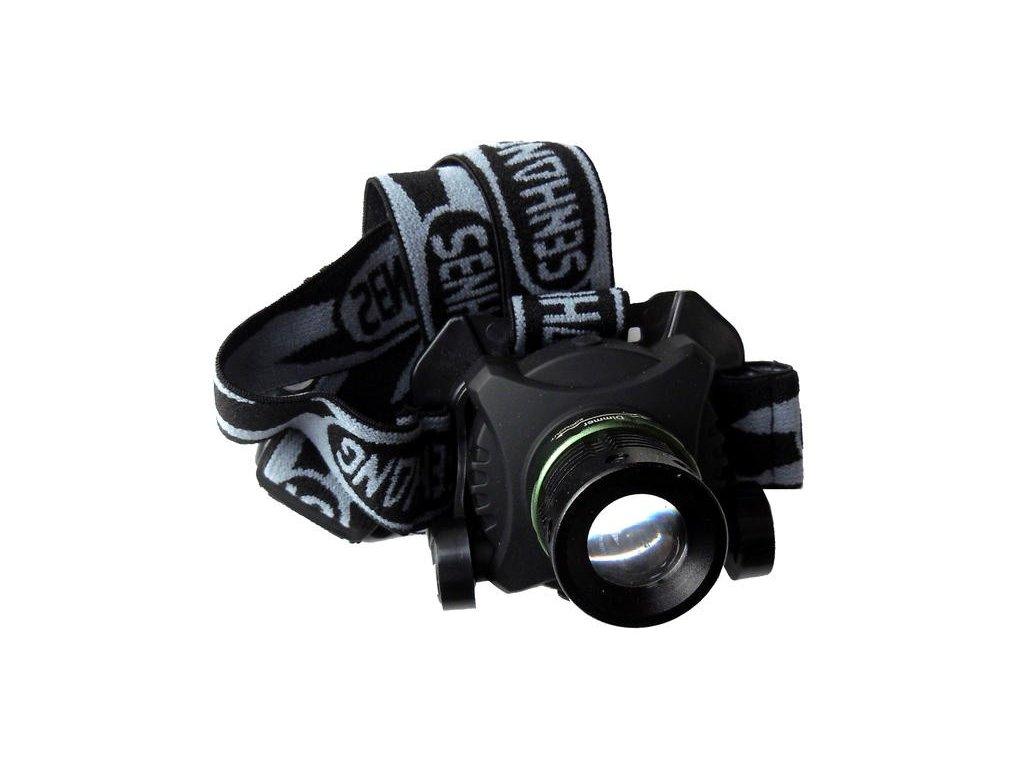 Čelovka - Dobíjecí zoom světlomet SH - A6