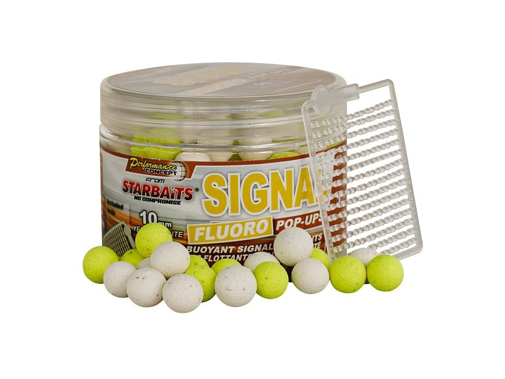 STARBAITS Signal Boilie FLUO 80g 14mm