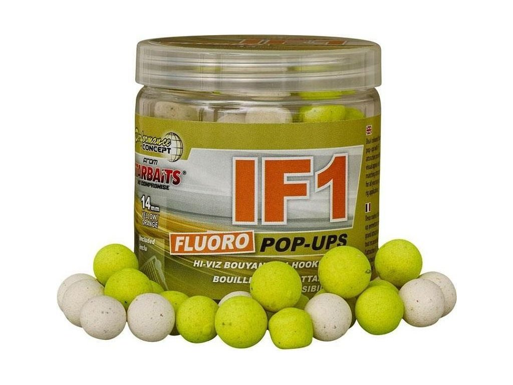 STARBAITS IF1 Boilie Fluo 14mm