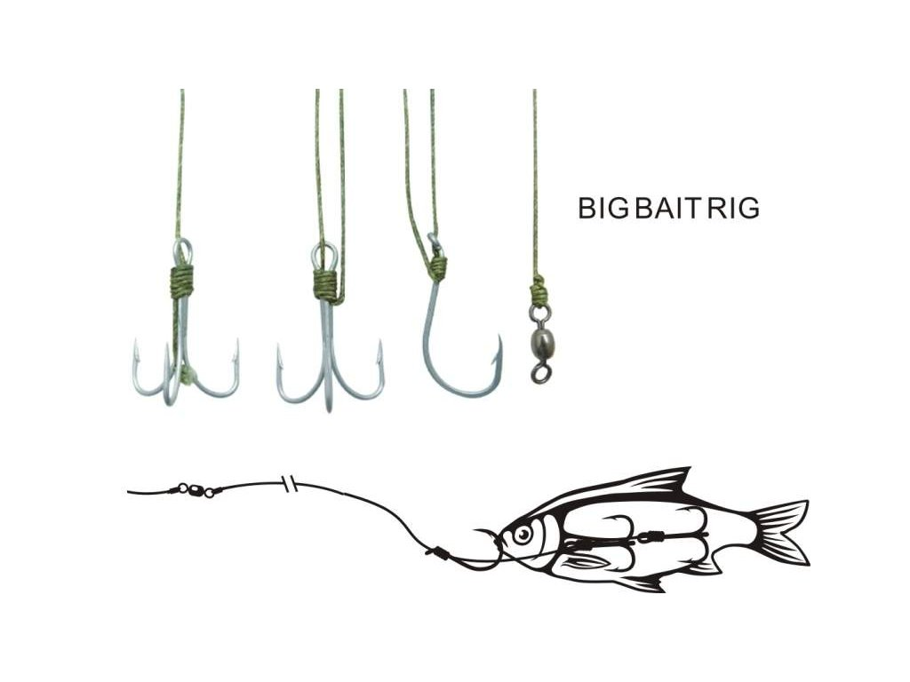Black Cat Big Bait Rig L