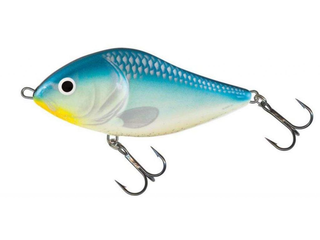 Wobler Salmo Slider 10 S Blue Black Herring